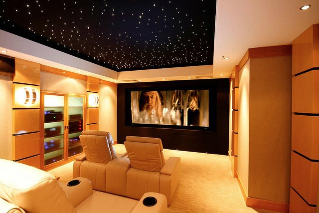 Home Cinema on thx audio system